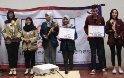 Mahasiswa Ilmu Komunikasi yang Tergabung dalam Tim Oranger Undip Meraih Juara II Lomba Campaign Proposal COMIC 2019