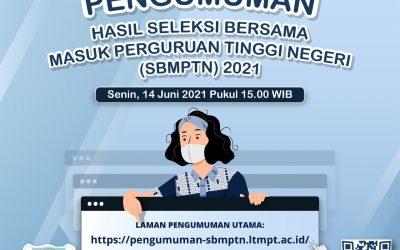 Pengumuman Hasil SBMPTN 2021 UNDIP